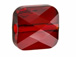 Siam - 6mm Swarovski Mini Square Bead