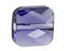 Tanzanite - 6mm Swarovski Mini Square Bead