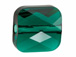 Emerald - 8mm Swarovski Mini Square Bead