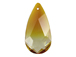 Terrenum - 24x12mm Swarovski Almond Shape Pendant