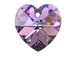 Vitrail Light - 14.4x14mm Swarovski  Heart Shape Pendant
