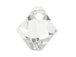 18 Swarovski 6301 8mm Faceted Bicone Pendant Crystal