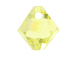 18 Swarovski 6301 8mm Faceted Bicone Pendant Jonquil AB