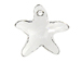 Crystal - 28mm Swarovski Starfish Pendant