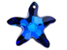 Crystal Bermuda Blue with Protective Coating - 16mm Swarovski  Starfish Pendant  (*New Item*)