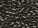 50 gram   METALLIC OLIVE  Delica Seed Beads11/0
