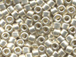 50 gram   GALVANIZED SILVER Delica Seed Beads11/0