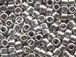 25 gram   PALLADIUM PLATED  Delica Seed Beads11/0
