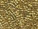 25 gram  Bright Gold 24K Plated  Delica Seed Beads8/0