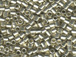50 gram Galvanized Silver  Delica Seed Beads8/0