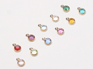 Birthstone Charm Sets (CC8 Series, 12mm Tall, New)