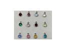 Birthstone Charm Sets (CC4 Series, 6.6mm Tall, New)