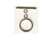 Gold Filled Round Smooth Toggle Clasp