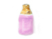 Pink Color Baby Bottle - Teeny Tiny Peruvian Ceramic Bead