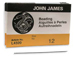 #12 John James English Beading Needles Pack of 25