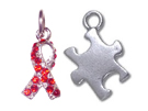 Awareness Ribbon Charms
