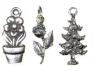 Flowers & Trees Charms