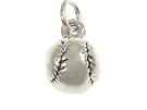Baseball - Sterling Silver Charms