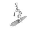 Surfing - Sterling Silver Charms