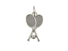 Tennis - Sterling Silver Charms